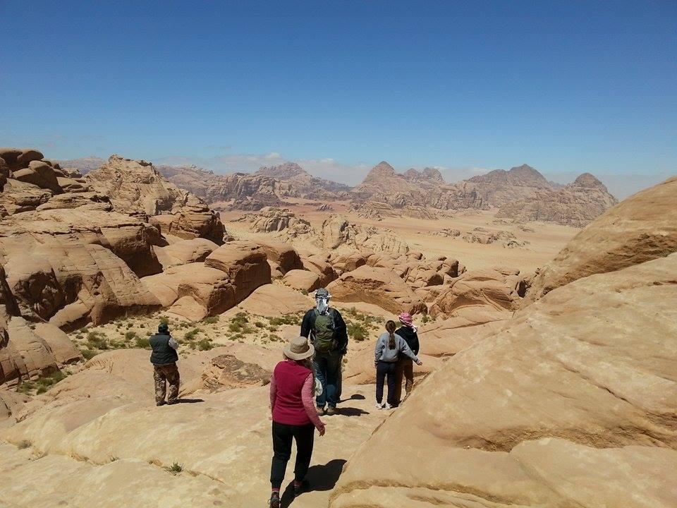 Wadi Rum Hiking